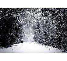 SNOWSHAKE Photographic Print