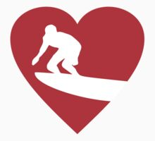 I love Surfing Heart by theshirtshops