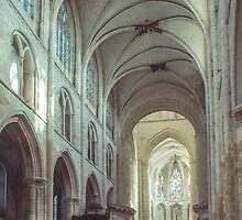 Nave St Pierre sur Dives 198402170016 by Fred Mitchell