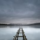 Loch Lomond Old Jetty by Maria Gaellman
