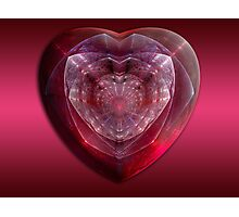 Gem Of A Heart Photographic Print