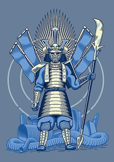 Samurai Nightmare by DoodleDojo