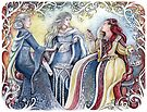 Three Queens by jankolas