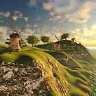 Happy mills 3D by Marsea