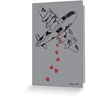 Love Bombs Greeting Card