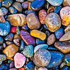 Pretty pebbles by Rebecca Mason