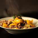 Still Life - Beef, Peppers, Spinach & Pasta by rsangsterkelly