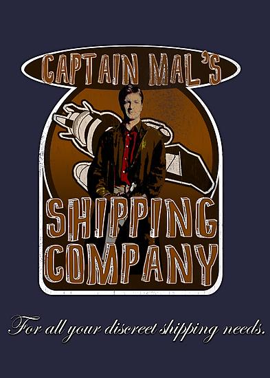 Captain Mal's Shipping Company by uncmfrtbleyeti