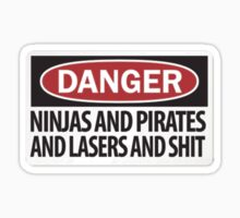 Danger, ninjas and pirates and shit by JacksonSam