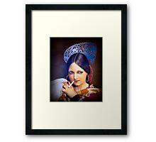 Vintage woman 2 Framed Print