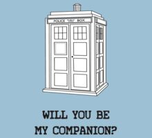 Will you be my companion? Kids Clothes