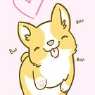 Corgi Valentine -&lt;3- by IdentityPro
