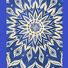 Blue Henna Design - Iphone Case  by sullat04