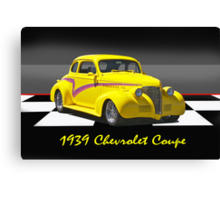 1939 Chevy Coupe w/ ID Canvas Print