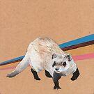 Black-footed ferret by NancyBenton