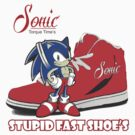 Vintage Sonic Shoes Tee by thejessis