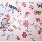 ROSEBUDS 11  by Gea Austen