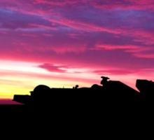 F1 Storm - panorama Sticker