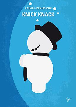 No172 My Knick Knack minimal movie poster by Chungkong