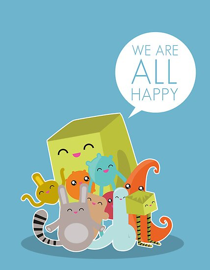 We Are All Happy by volkandalyan
