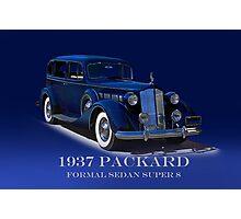 1937 Packard Formal Sedan w/ID Photographic Print