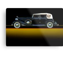 1933 Cadillac V16 Convertible Sedan w/o ID Metal Print