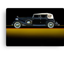 1933 Cadillac V16 Convertible Sedan w/o ID Canvas Print