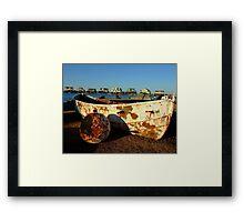 Fisherman's Home Framed Print