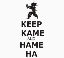 Keep Kame and Hame Ha by eclipzeundersco