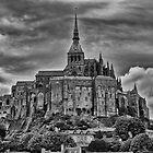 Le Mont Saint Michelle by Mark Bowden