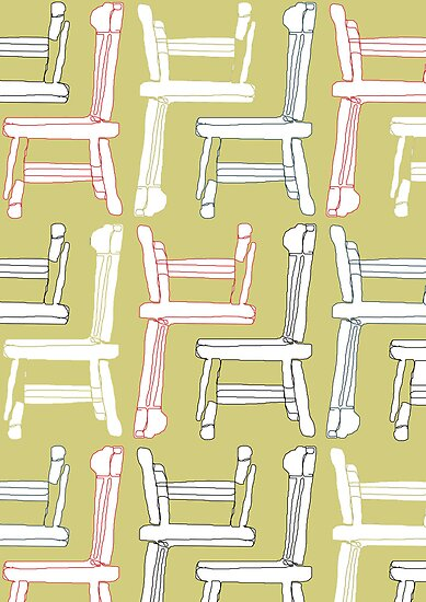 The Lost Chairs by Tamsin George