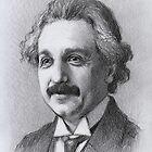 Albert Einstein by thedrawinghands