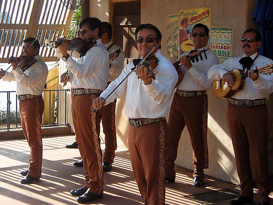 Mexican Serenade  by John  Kapusta