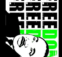 MLK FREEDOM GREEN by OTIS PORRITT