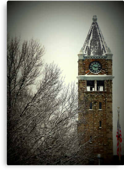 The Clock Tower by BarbL