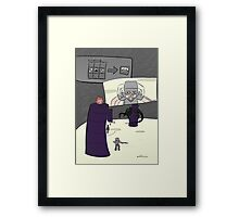 Dragon Hunt Framed Print