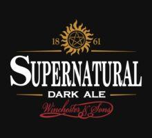 Supernatural Dark Ale by rexraygun