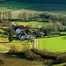 The village of Handthal in Lower Franconia, Bavaria, Germany. by David A. L. Davies