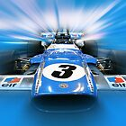 Jackie Stewart - Matra MS80 by Tom Clancy