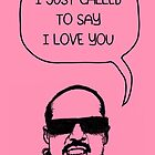 Stevie Wonderful 'Love You' Card by Socialfabrik