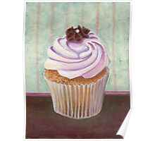 Champagne Chic Cupcake Poster