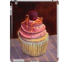 Purple Raspberry Cupcake iPad Case/Skin