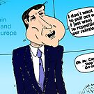 David Cameron caricature by Binary-Options
