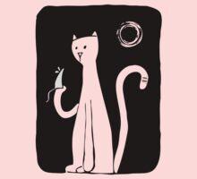 Cat & Mouse - Black Kids Clothes