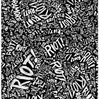 Paramore Riot! iPhone / iPod / iPad Case / Poster / Sticker by BandTees