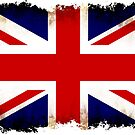 British flag grunge by nadil