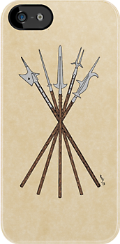 Some 16th Century Polearms by RHFay