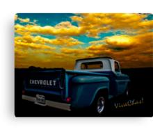56 Chevy Truck Canvas Print