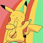 Pikachu Stoned by sheakennedy