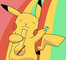 Pikachu Stoned by S M K